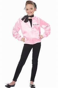 Grease Kid's Costumes | Pink Ladies Girls Costume | Kids ...