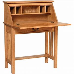 Mission Secretary Desk - Amish Crafted Furniture