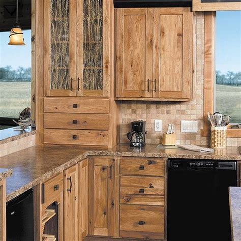 rustic hickory kitchen cabinets rustic hickory cabinets home tedxumkc decoration