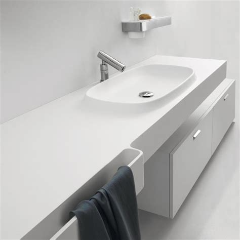Integral Sink Countertop From Agape  New Desk Is An Exmar