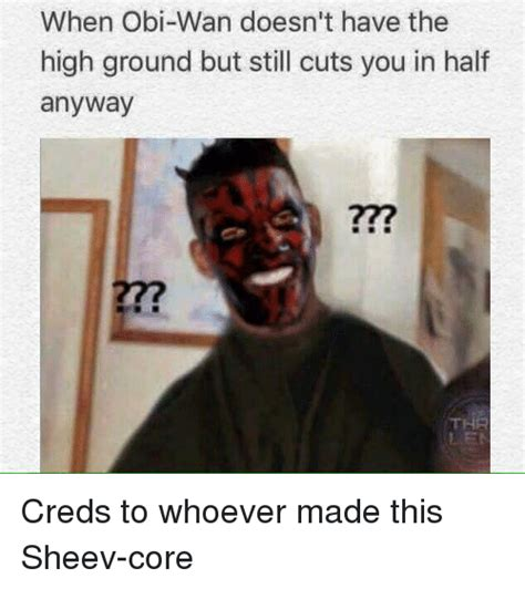 High Ground Memes - funny i have the high ground memes of 2017 on sizzle