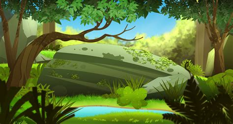 Animation Background By Zazukudap On Deviantart