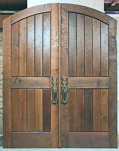 Hand Planed White Oak Doors - WGH Woodworking