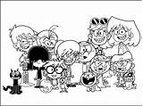 Loud Coloring Pages Cartoon Colouring Perfect Deviantart Printable Luna Sheets Name Lincoln Template Characters Printables Halloween Iverson Allen Nickelodeon Print sketch template