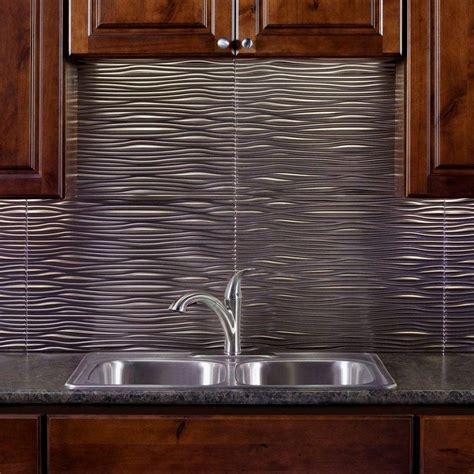 Tile On Tile by Diy Install And Care Metal Tile Backsplash Interior