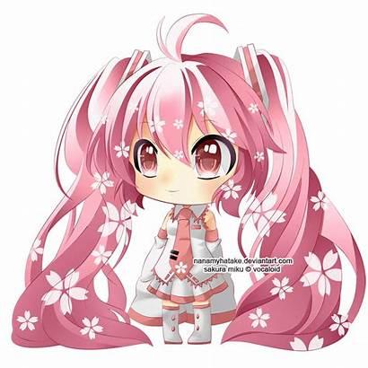 Miku Chibi Sakura Hatsune Anime Vocaloid Cosplay