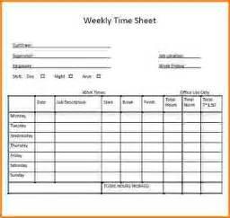 Multiple Employee Weekly Timesheet