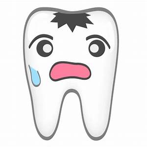 Decay clipart unhealthy tooth - Pencil and in color decay ...