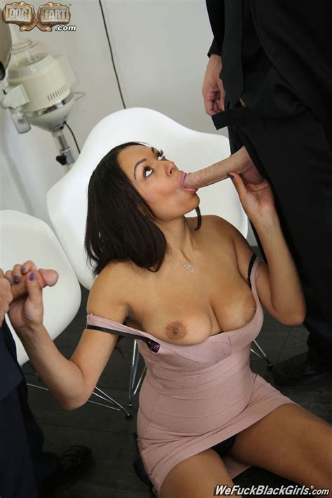 Hot Hairdresser Bethany Benz Gets Double Dicked 1 Of 2