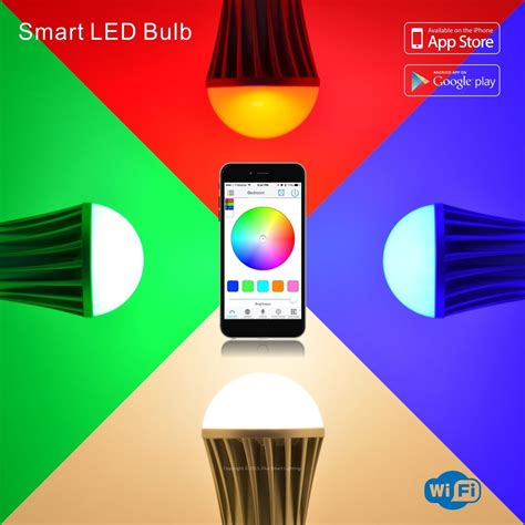 flux wifi smart led light bulb flux smart lighting