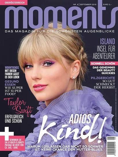 Swift Taylor Magazine August Moments Issue Celebmafia