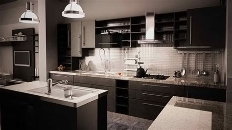 black and white bathroom designs 15 bold and black kitchen designs home design lover