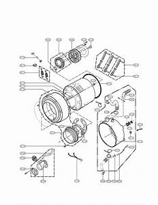 Lg Wm2010cw Washer Parts