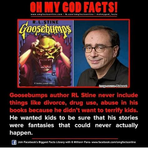 Goosebumps Meme - on my cod facts wwwomg facts on linecom i fbcomom g factsonilne ohm y god facts r l stine if s