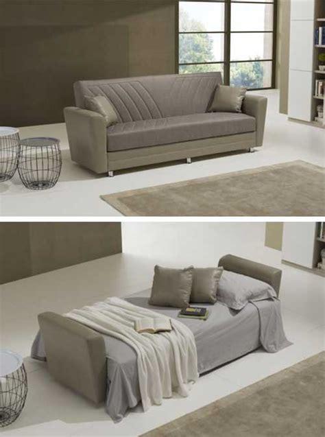Divano Color Fango - divano letto per il soggiorno divani letto in pelle