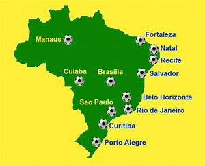 VIPSeats.com Blog | FIFA World Cup Brazil 2014- Host Cities