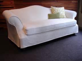 slipcovers for camel back sofa custom slipcover organic cotton bamboo traditional