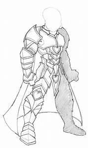 How to draw armor knights