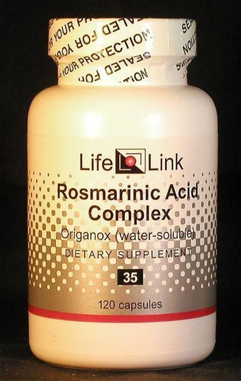 rosmarinic acid complex  capsules