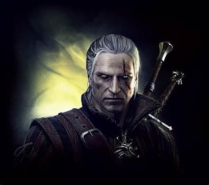 Witcher Geralt Rivia Kings Wallpapers Wallpapersbq Bust