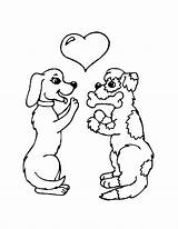 Coloring Poodle Pages Puppy Popular sketch template