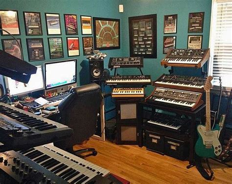 Craft Room Home Studio Setup by 1000 Images About Basement Recording Studio On
