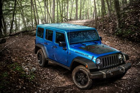 2016 Jeep Wrangler Unlimited Black Bear Edition © Fiat