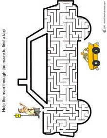 Free Printable Maze Worksheets