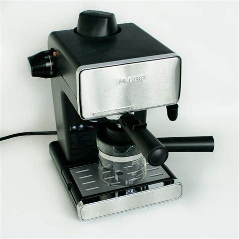 Mr. Coffee Steam Espresso & Cappuccino Maker   YouTube