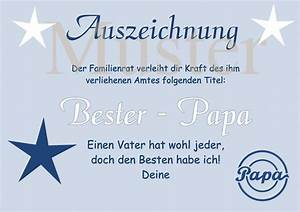 Bester Schließzylinder Der Welt : urkunde bester papa der welt din a4 auszeichnung diplom papa oma opa vatertag muttertag ~ Buech-reservation.com Haus und Dekorationen