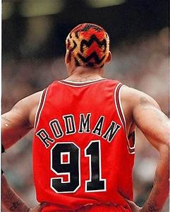 Dennis Rodman-Chicago Bulls #91 | Famous Athletes ...