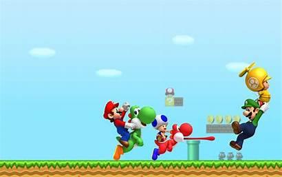 Mario Bros Wallpapers Super 4k Desktop Backgrounds