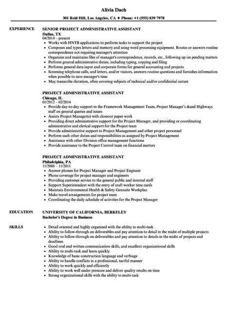 administrative assistant resume sles resume template