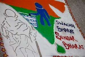 Rangoli Making Competition at IIM Raipur on Swachhata