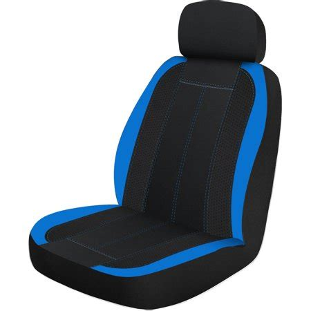 Cover Walmart by Auto Drive Sgl Sports Seat Cover Blue Walmart