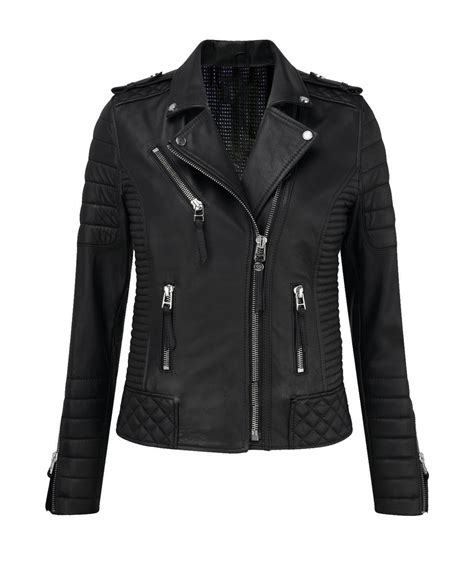 genuine leather motorcycle jacket women 39 s genuine leather lambskin motorcycle jacket slim