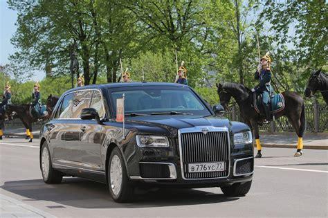 Russian President Vladimir Putin Rides-in New Kortezh