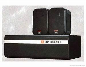 Jbl Control Sb1 - Manual - Subwoofer System