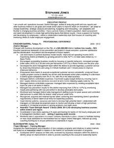 resume objective statement exles management by objectives manager sle resume objective