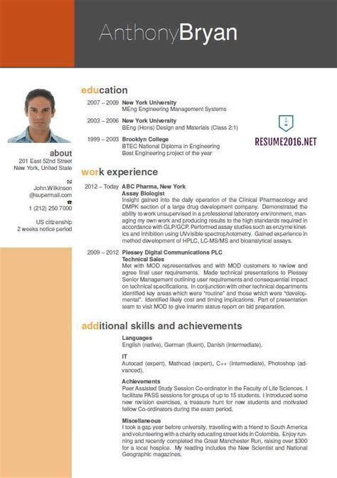 Resume Formate by Best Resume Format 2016 Which One To Choose In 2016 Vj