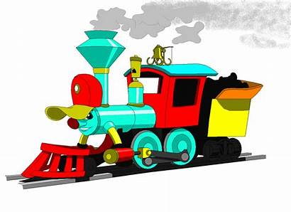 Train Casey Jr Clipart Trains Passenger Deviantart