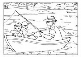 Antique Fishing Lures Wacky Coloring Pages