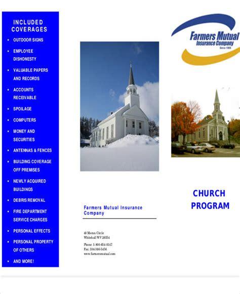 FREE 8+ Church Program Samples in PDF | MS Word