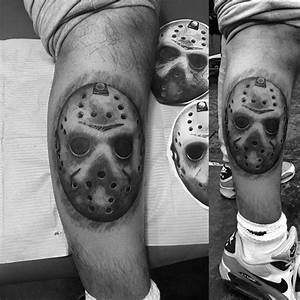 Wrist Band Designs 60 Jason Mask Designs For Men Friday The 13th Ideas