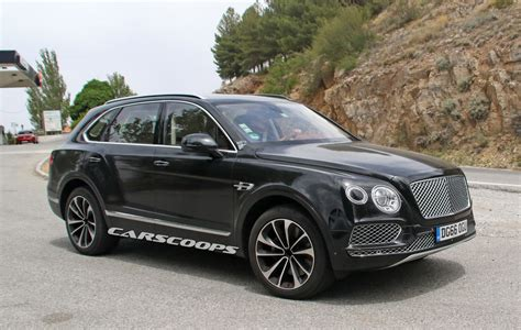 spied plug in hybrid bentley bentayga is another first for the brand carscoops