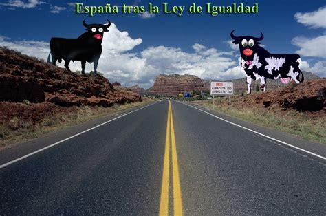 España tras la Ley de Igualdad | Agenda de ideas