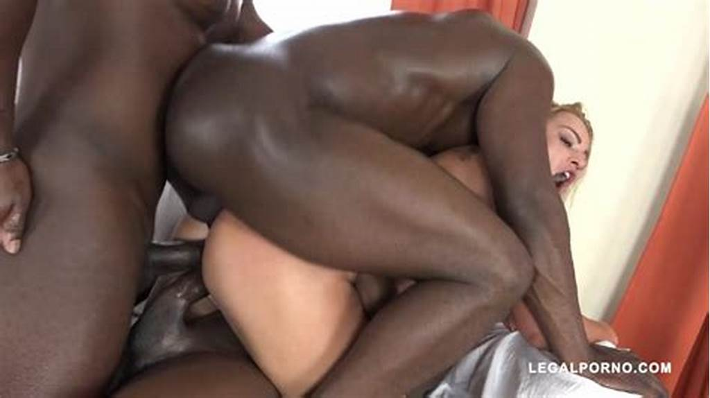 #Three #Black #Cocks #Drill #Blonde #Cherry #Kiss
