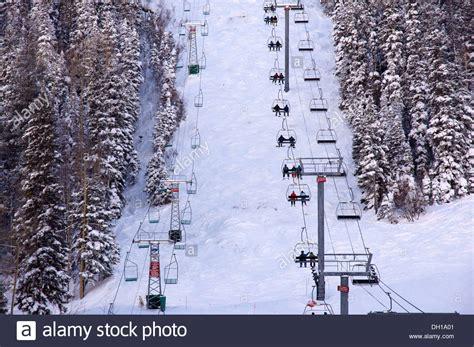 aerial view of ski lift ski lift conveyor gondola chair
