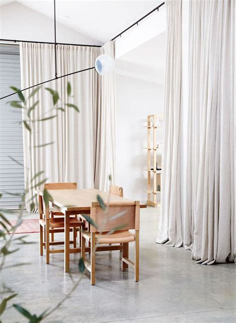 large room dividers 15 easy and amazing curtains room dividers house design 3667