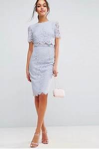 Robe Pour Invité Mariage : robe dentelle invit mariage ~ Melissatoandfro.com Idées de Décoration